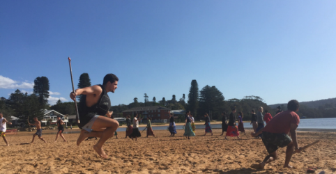 Bungul (dance) at Avoca Beach