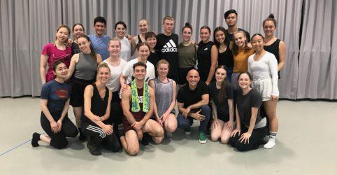 Kiara and Maddison: Secondment with Sydney Dance Company