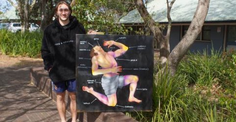 Certificate III Developing Artist Riley Warner shares his latest achievement