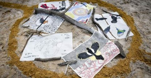 Students' artworks raise over $1,400 for remote Aboriginal Community