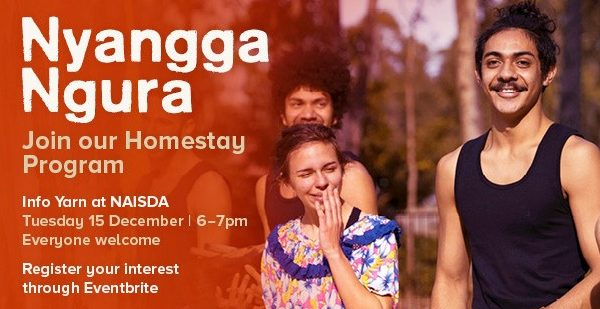 Become a Homestay Host for a NAISDA Developing Artist