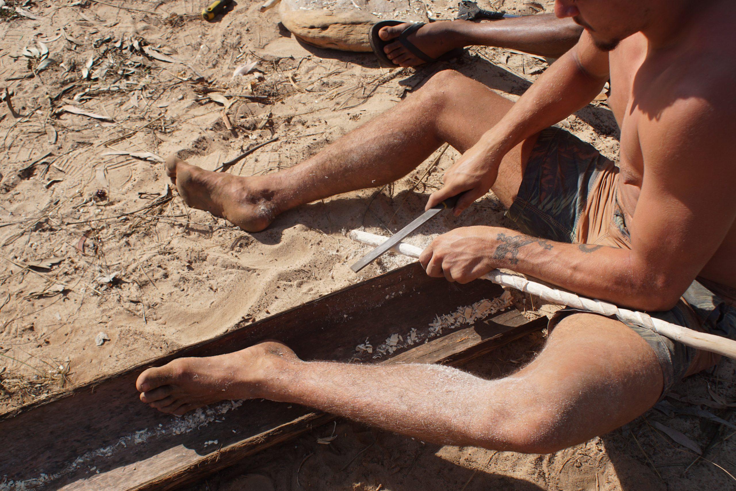 Kallum Goolagong making Galpu